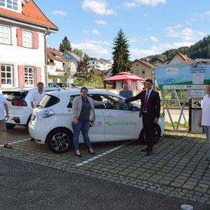 Acht Kommunen des RegioENERGIE-Netzwerks an das deer e-Carsharing-Netz angeschlossen