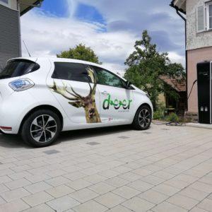 Gesamte Gemeinde Oberreichenbach an das deer e-Carsharing-Netz angeschlossen